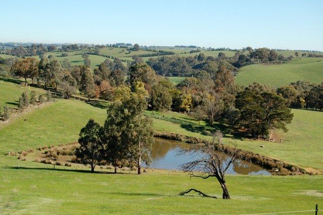 The picturesque countryside of Arthurs Creek